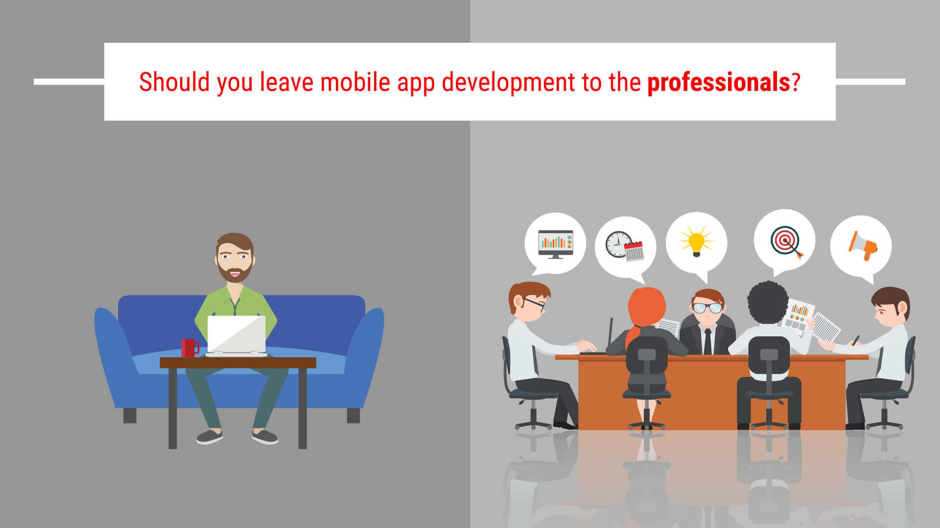 should you leave mobile app development to the professionals