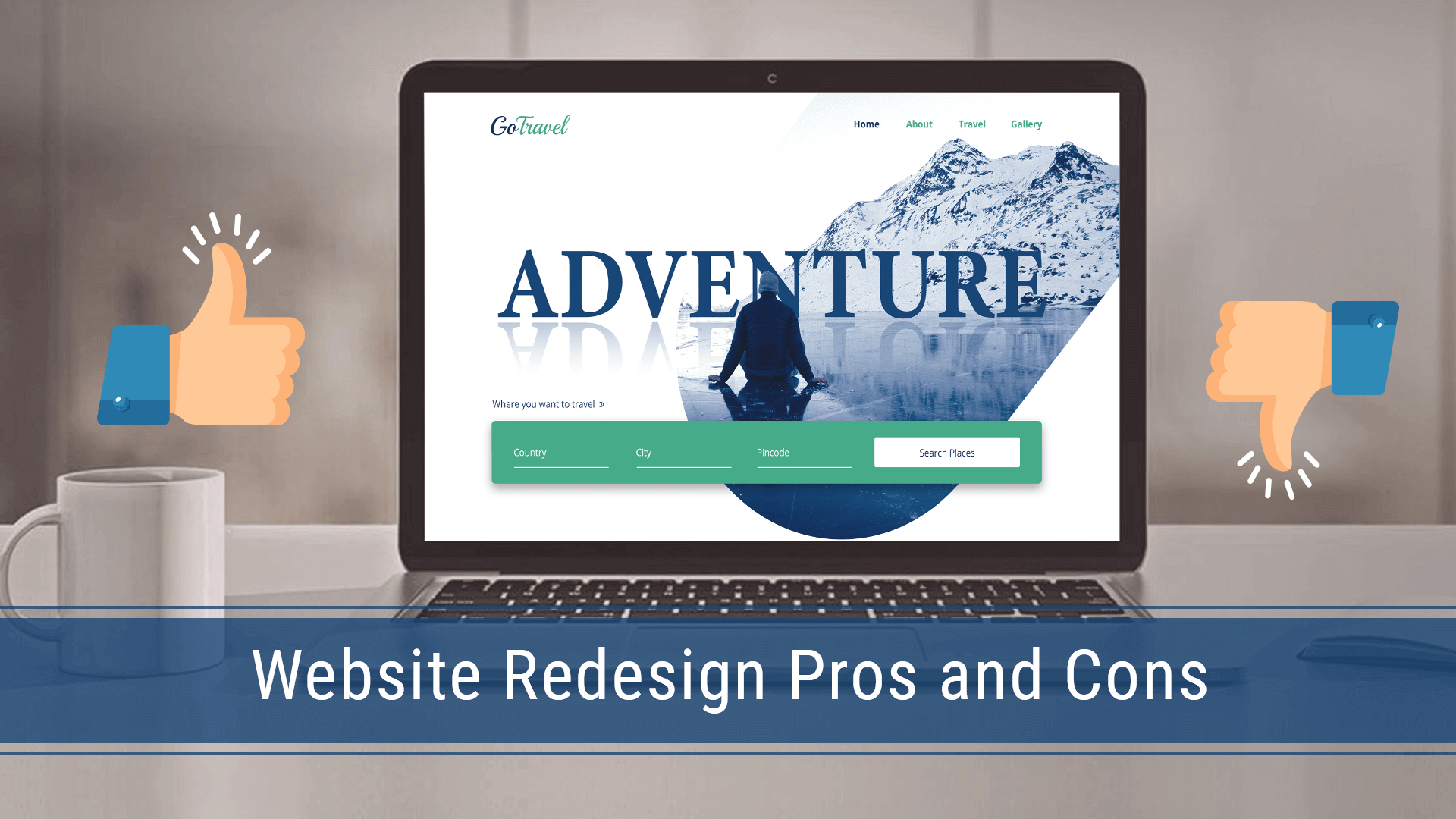 website redesign pros and cons