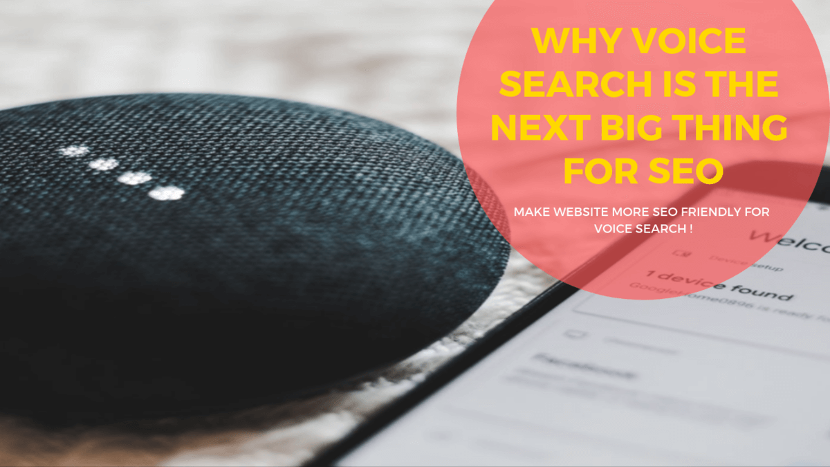 WHY VOICE SEARCH IS THE NEXT BIG THING FOR SEO