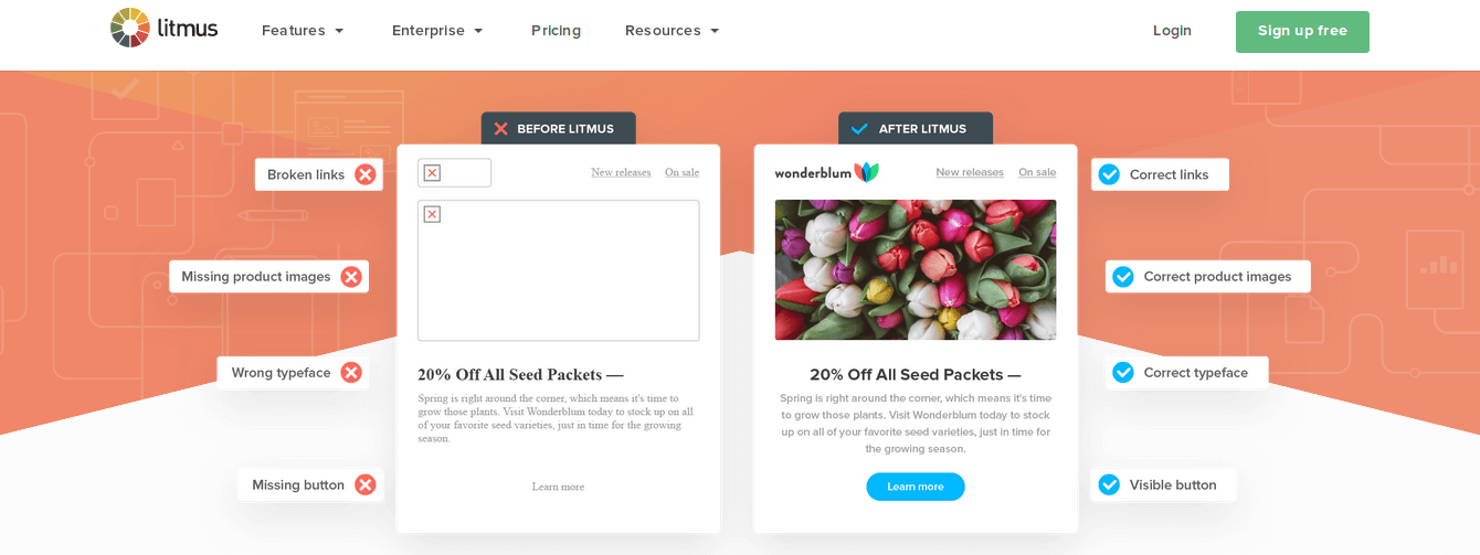 test your emails For optimal results