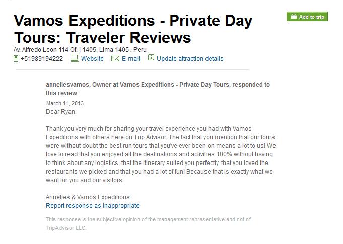 vamos expeditions