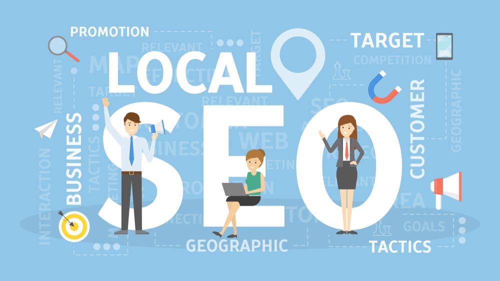 take advantage of local SEO keywords